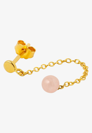 Lulu - Natural Stone Chain Rose