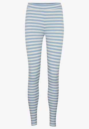 Basic Apparel - Leggings Elba Blue/Off White