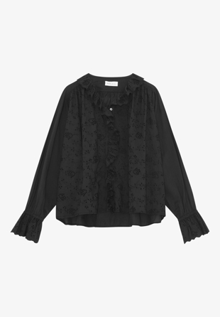 Skall Studio - Skjorte Bay Blouse Black