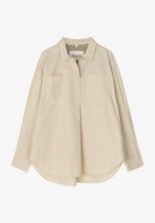 Aiayu - Skjorte Shirt Tunic Oxford