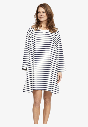 moshi moshi - Sweatdress Fall Stripe